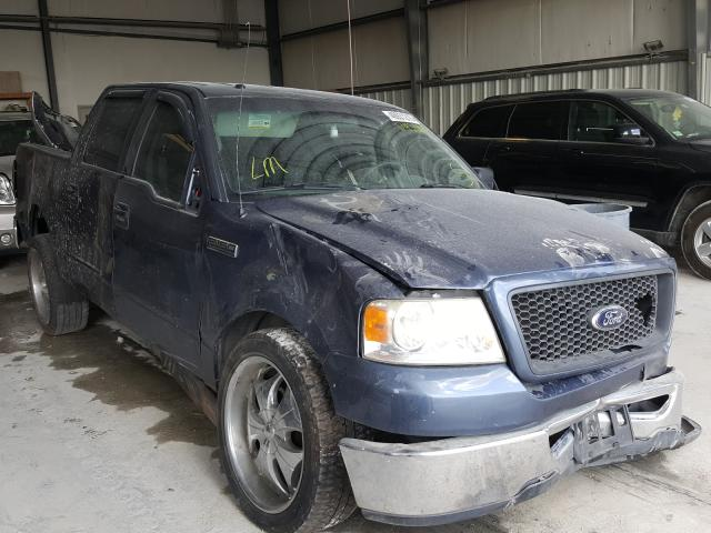Salvage cars for sale from Copart New Braunfels, TX: 2006 Ford F150 Super