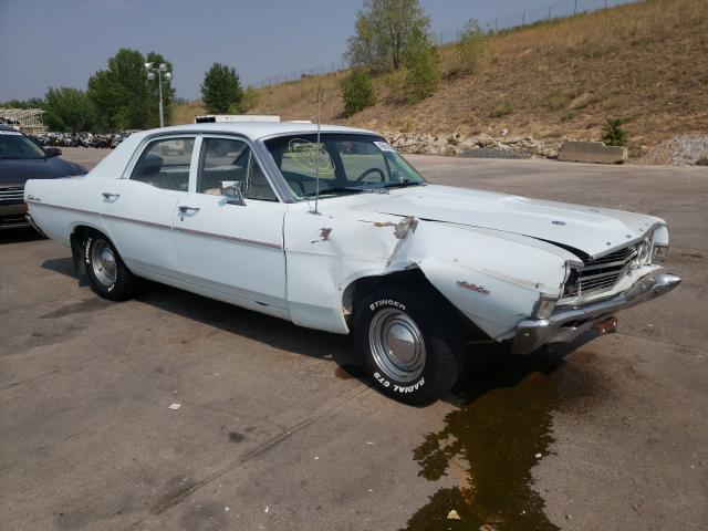 Ford Fairlane salvage cars for sale: 1968 Ford Fairlane