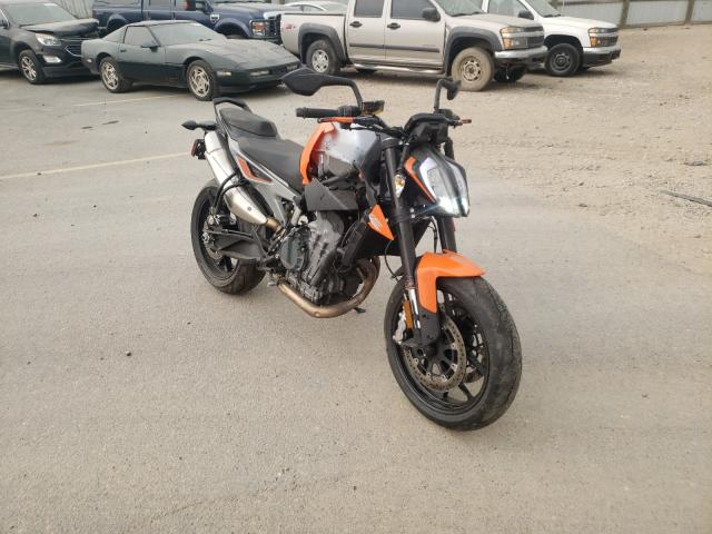 KTM salvage cars for sale: 2019 KTM 790 Duke