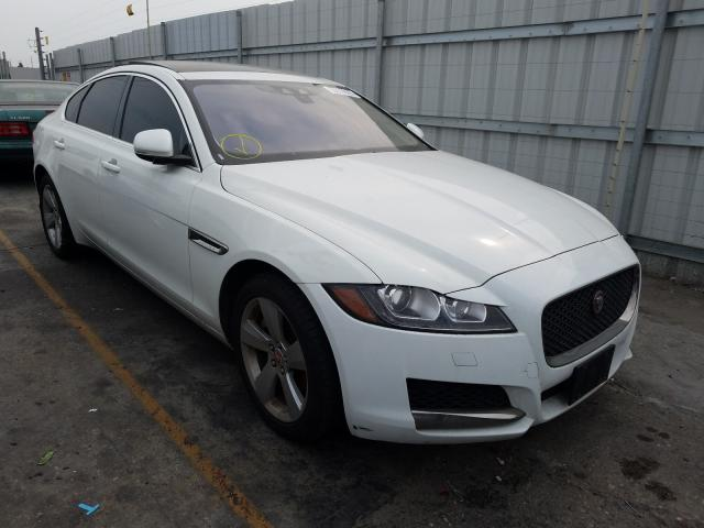 Salvage cars for sale from Copart Wilmington, CA: 2018 Jaguar XF