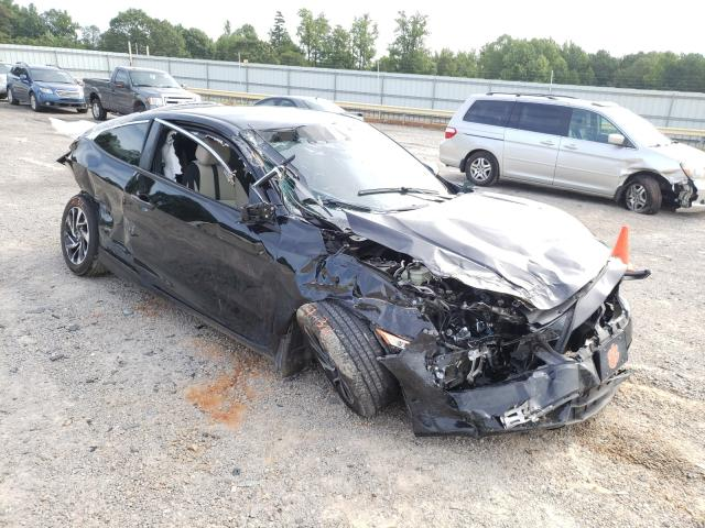 Salvage cars for sale from Copart Chatham, VA: 2018 Honda Civic LX