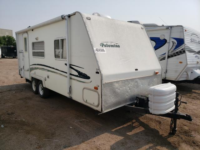 Thor Trailer salvage cars for sale: 2003 Thor Trailer