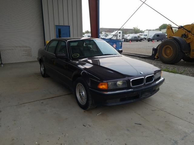 BMW salvage cars for sale: 1998 BMW 740 IL