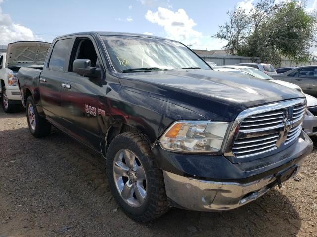 Salvage cars for sale from Copart Mercedes, TX: 2016 Dodge RAM 1500 SLT