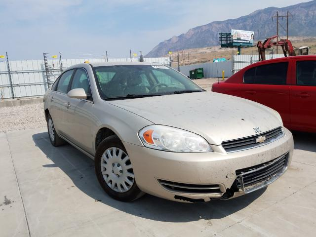 Salvage cars for sale from Copart Farr West, UT: 2008 Chevrolet Impala LS