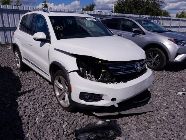 Volkswagen Tiguan salvage cars for sale: 2016 Volkswagen Tiguan