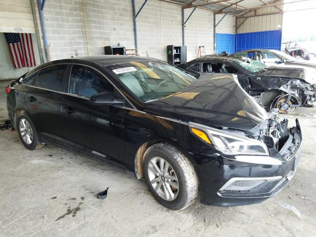 Salvage cars for sale from Copart Cartersville, GA: 2017 Hyundai Sonata SE