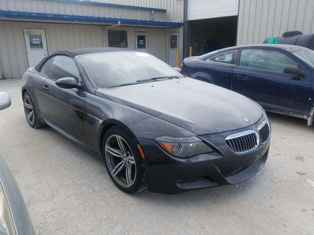 BMW M6 salvage cars for sale: 2007 BMW M6