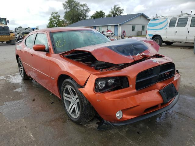 Salvage cars for sale from Copart Sikeston, MO: 2006 Dodge Charger R