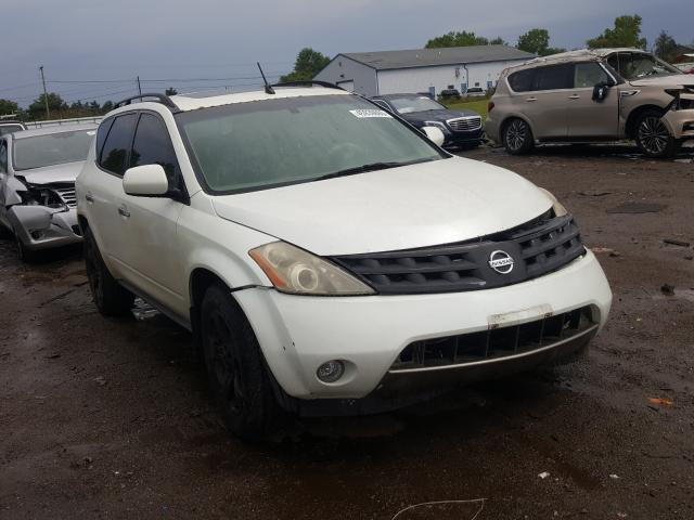 Nissan salvage cars for sale: 2004 Nissan Murano SL