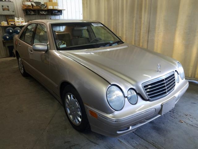 Mercedes-Benz E 320 4matic salvage cars for sale: 2002 Mercedes-Benz E 320 4matic