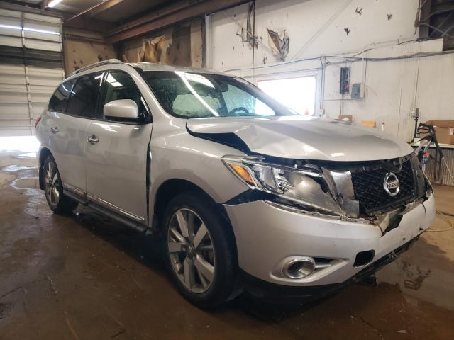 Salvage cars for sale from Copart Casper, WY: 2013 Nissan Pathfinder