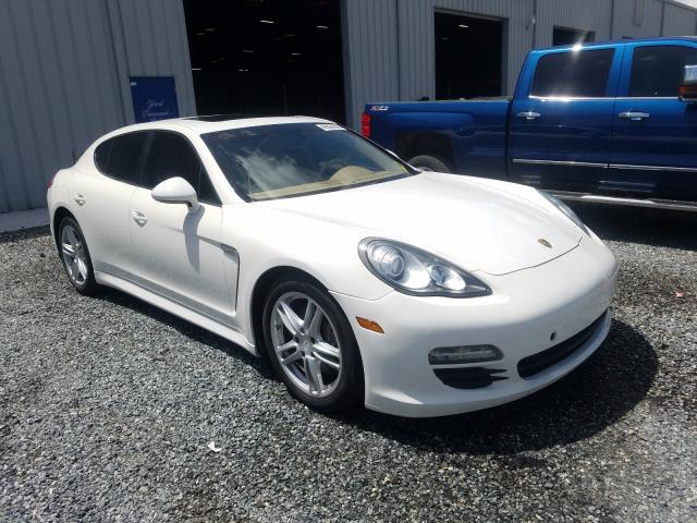 Salvage cars for sale from Copart Jacksonville, FL: 2011 Porsche Panamera 2