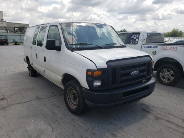 Salvage cars for sale from Copart Tulsa, OK: 2011 Ford Econoline