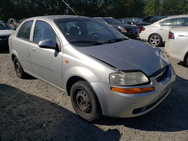 Salvage cars for sale from Copart Arlington, WA: 2004 Chevrolet Aveo