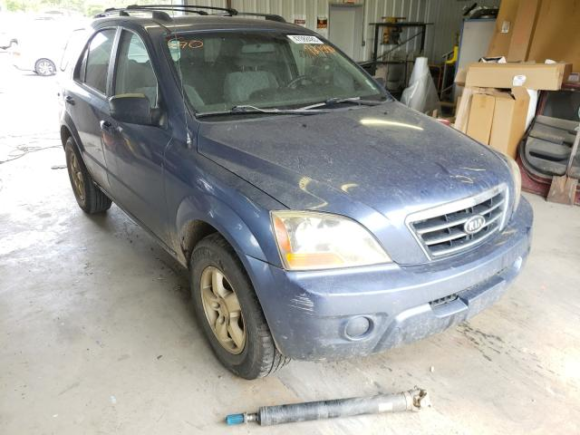 Salvage cars for sale from Copart Shreveport, LA: 2007 KIA Sorento EX