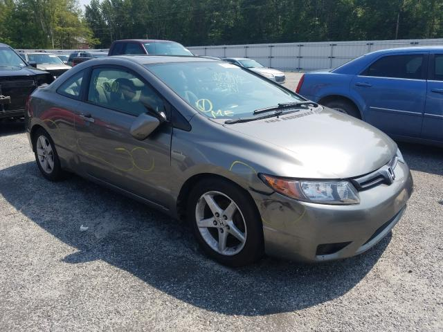 Salvage cars for sale from Copart Fredericksburg, VA: 2006 Honda Civic EX