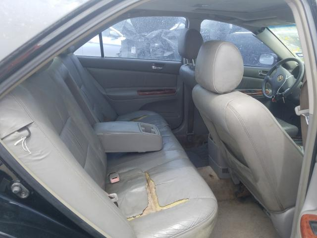 2002 TOYOTA CAMRY LE - Interior View