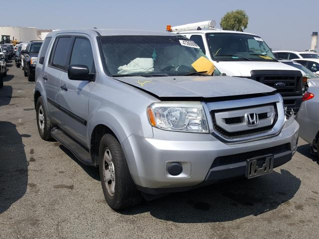 Honda Pilot LX salvage cars for sale: 2010 Honda Pilot LX