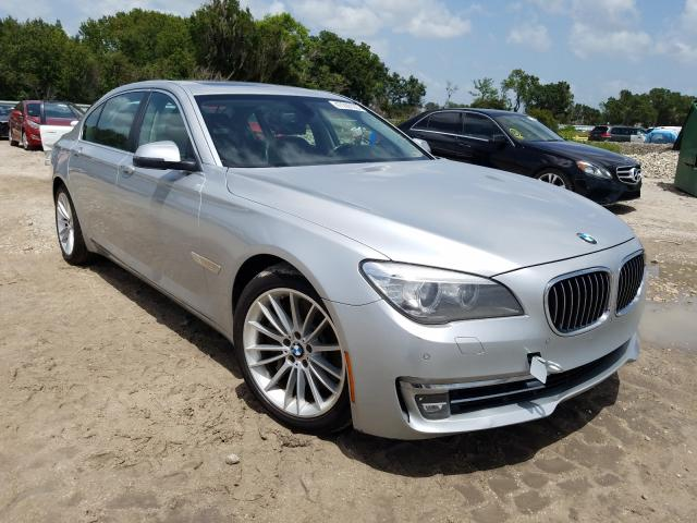 BMW 750 LXI salvage cars for sale: 2013 BMW 750 LXI