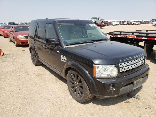 Salvage cars for sale from Copart Amarillo, TX: 2013 Land Rover LR4 HSE