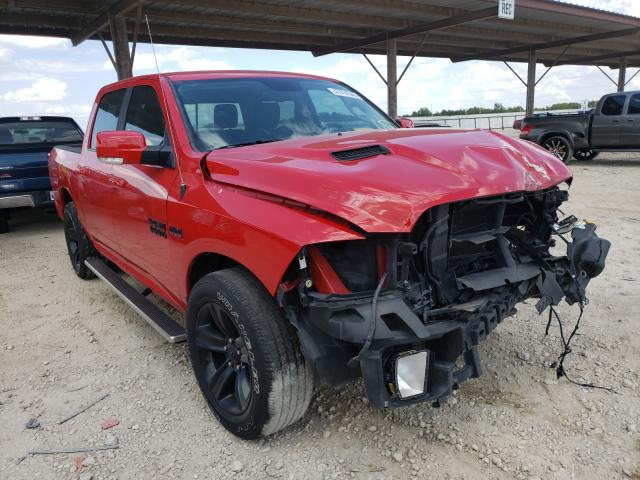 Salvage cars for sale from Copart Temple, TX: 2017 Dodge RAM 1500 Sport