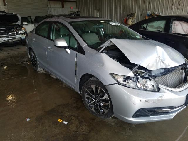 Salvage cars for sale from Copart Albany, NY: 2013 Honda Civic EX