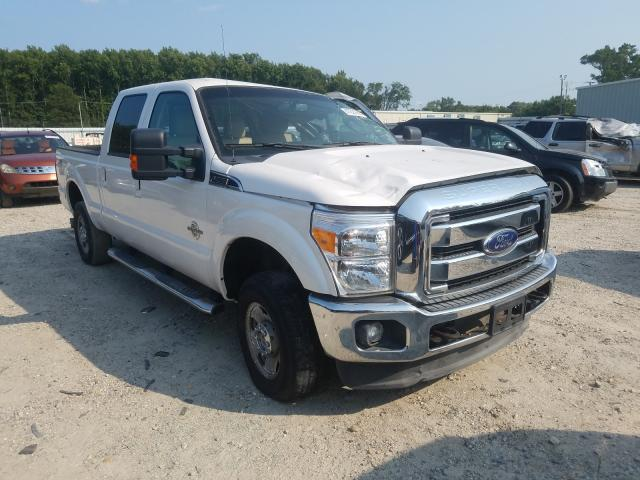 Salvage cars for sale from Copart Hampton, VA: 2012 Ford F250 Super
