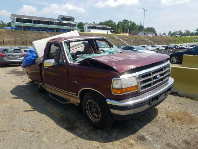 Salvage cars for sale from Copart Concord, NC: 1996 Ford F150