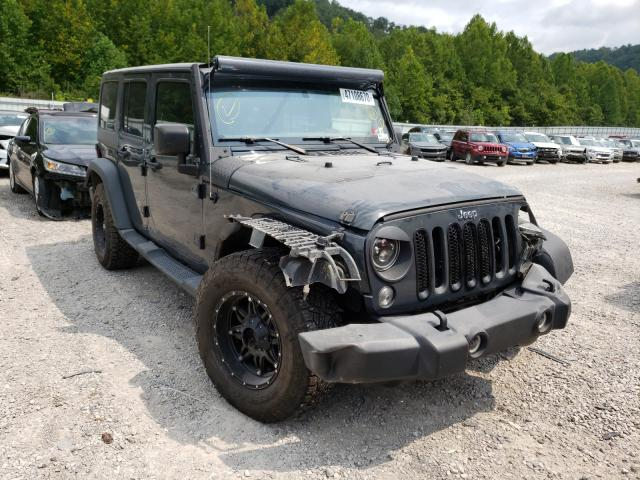 Salvage cars for sale from Copart Hurricane, WV: 2016 Jeep Wrangler U