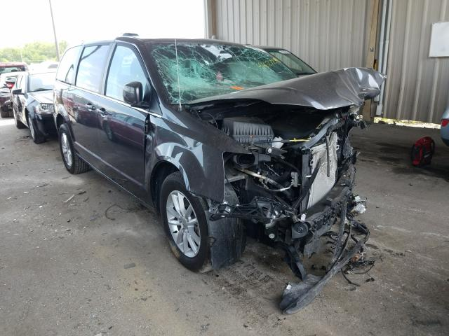Salvage cars for sale from Copart Fort Wayne, IN: 2019 Dodge Caravan