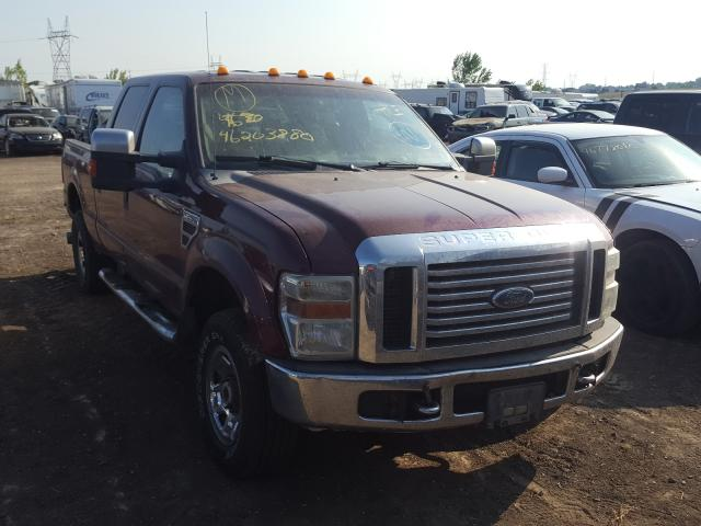 Ford F250 Super salvage cars for sale: 2008 Ford F250 Super
