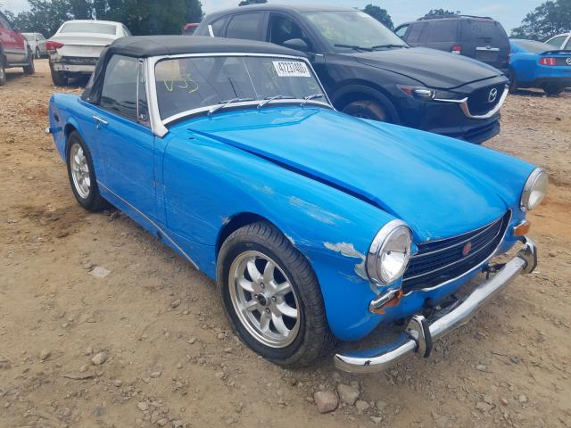 MG Vehiculos salvage en venta: 1973 MG Midget CON