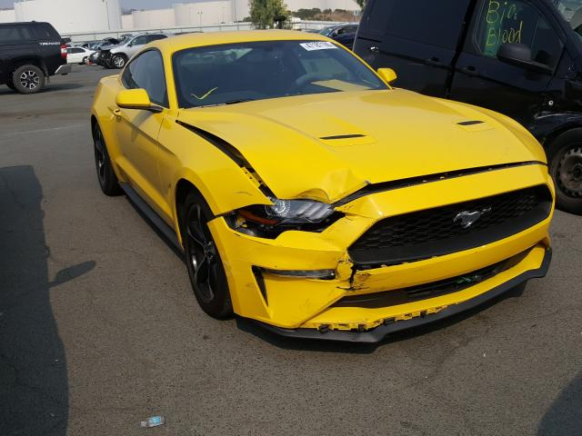 Salvage cars for sale from Copart Martinez, CA: 2018 Ford Mustang
