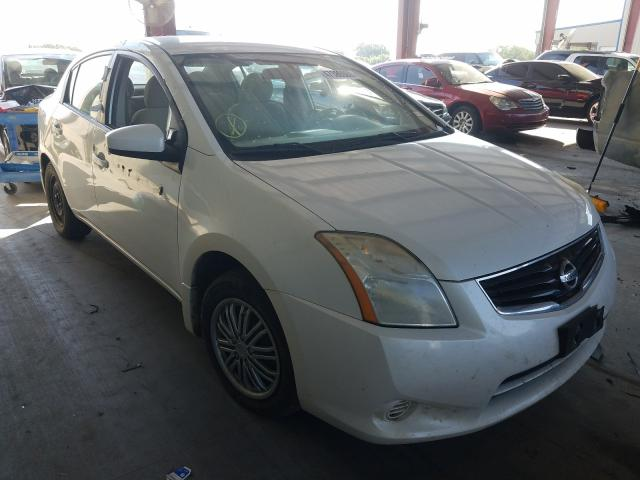 Salvage cars for sale from Copart Wilmer, TX: 2012 Nissan Sentra 2.0