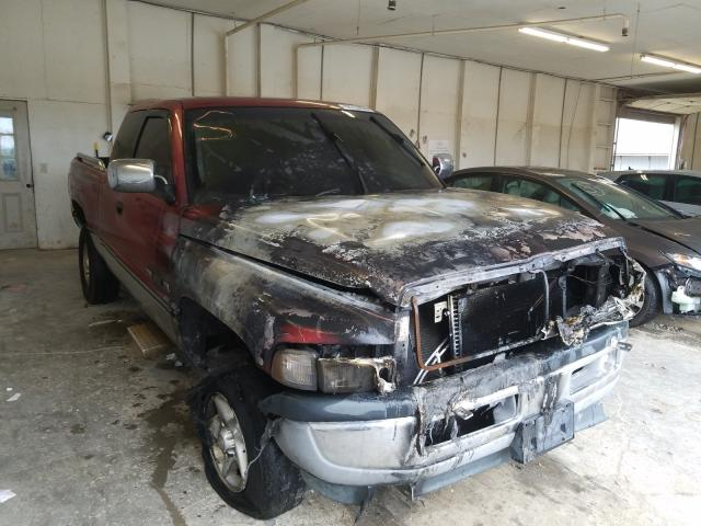 Salvage cars for sale from Copart Madisonville, TN: 1997 Dodge RAM 1500