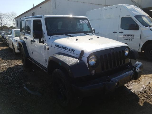 Salvage cars for sale from Copart Hillsborough, NJ: 2016 Jeep Wrangler U