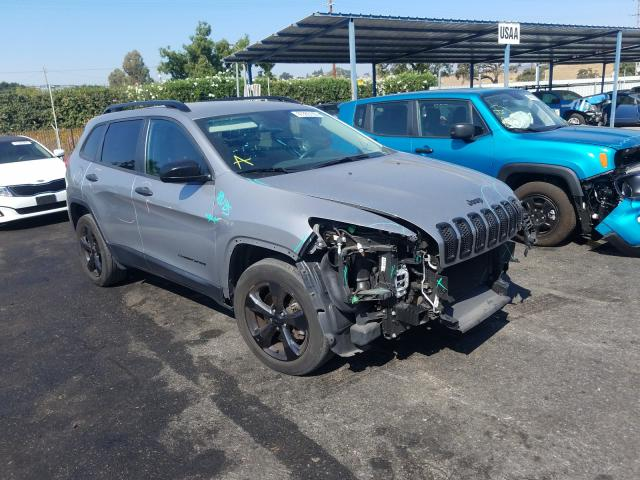 Jeep Cherokee S salvage cars for sale: 2016 Jeep Cherokee S