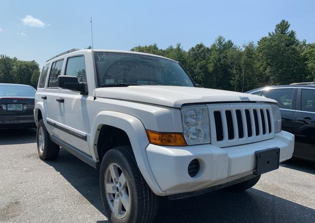 Salvage cars for sale from Copart North Billerica, MA: 2006 Jeep Commander