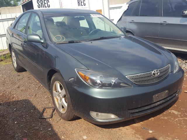 Salvage cars for sale from Copart Hillsborough, NJ: 2002 Toyota Camry