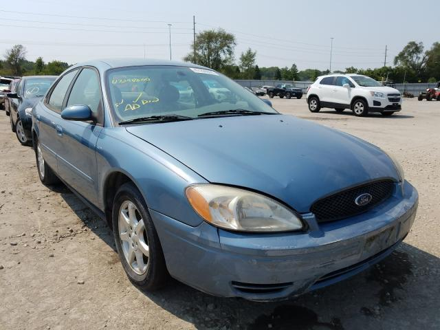 Salvage cars for sale from Copart Des Moines, IA: 2007 Ford Taurus SEL