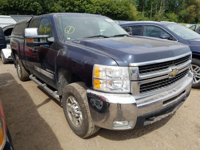 Salvage cars for sale from Copart Davison, MI: 2008 Chevrolet Silverado