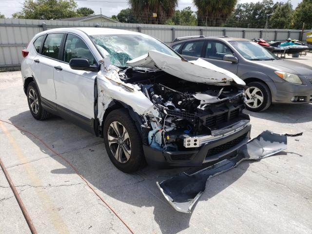 Salvage cars for sale from Copart Punta Gorda, FL: 2019 Honda CR-V LX