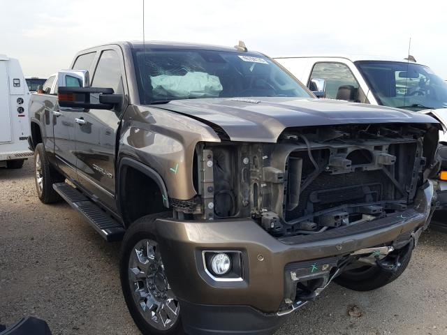 Salvage cars for sale from Copart San Antonio, TX: 2015 GMC Sierra K25