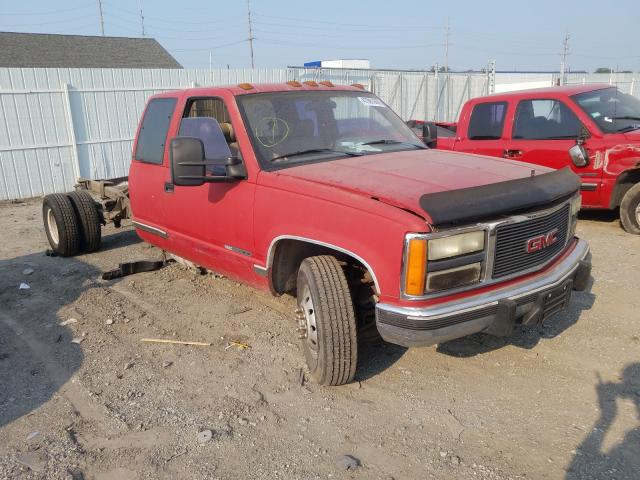 Salvage cars for sale from Copart Hammond, IN: 1991 GMC Sierra C35