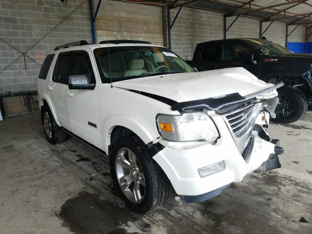 Ford Explorer L salvage cars for sale: 2008 Ford Explorer L