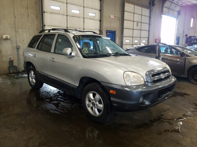 Hyundai salvage cars for sale: 2005 Hyundai Santa FE G