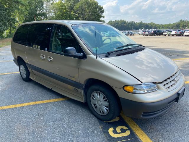 Salvage cars for sale from Copart North Billerica, MA: 1999 Plymouth Grand Voyager