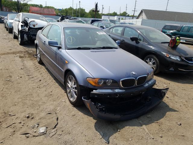 Salvage cars for sale from Copart Hammond, IN: 2004 BMW 330 CI