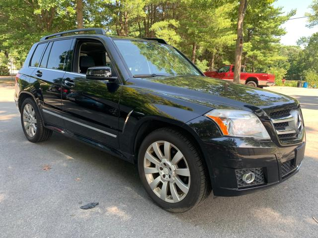 Salvage cars for sale from Copart North Billerica, MA: 2012 Mercedes-Benz GLK 350 4M
